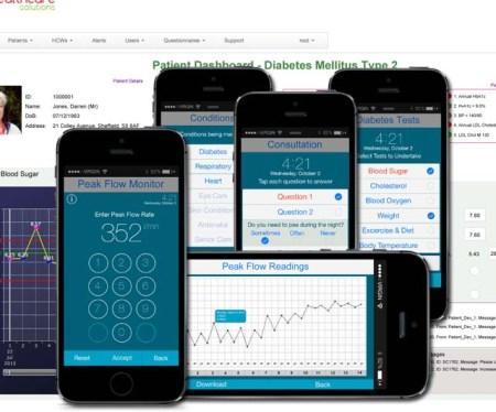 Mobile Tele Health Care Screenshot