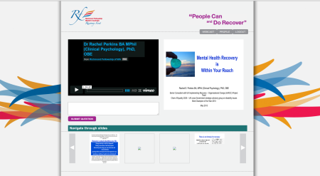 Seminar Streaming Dashboard